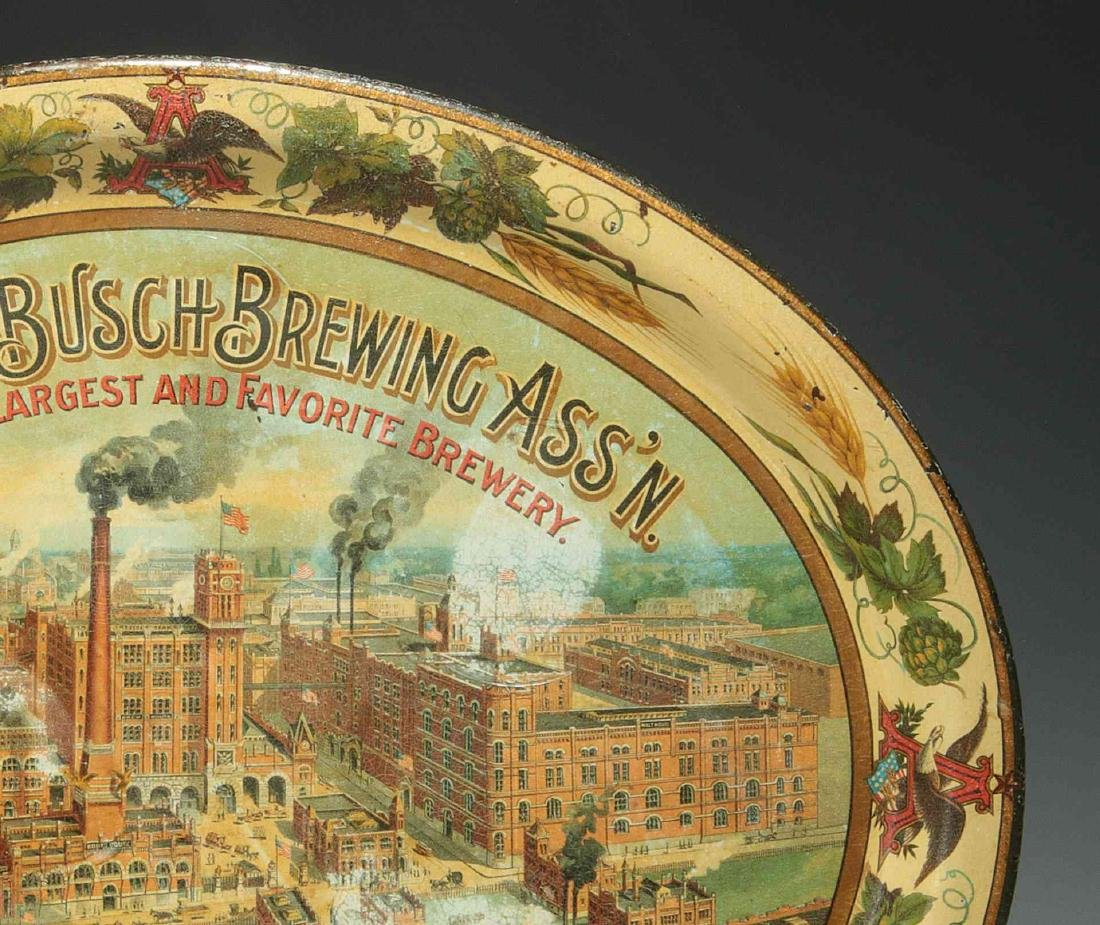PRE-PROHIBITION ANHEUSER BUSCH BREWING ASS'N TRAY - 4