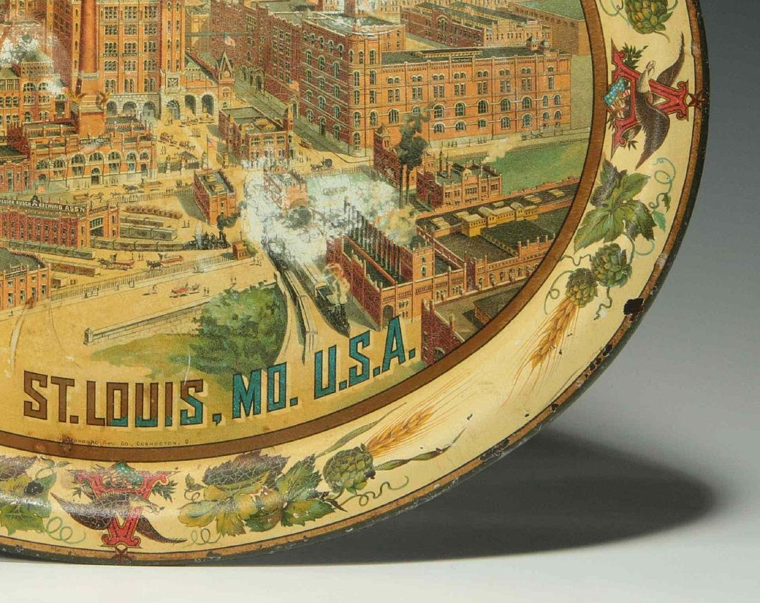 PRE-PROHIBITION ANHEUSER BUSCH BREWING ASS'N TRAY - 5