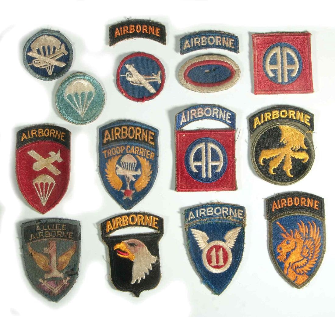 A COLLECTION OF 105 WWII-ERA US ARMY PATCHES - 4
