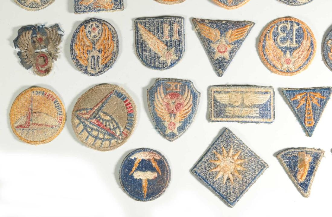A COLLECTION OF 36 ARMY AIR FORCE AAF WWII INSIGN - 10