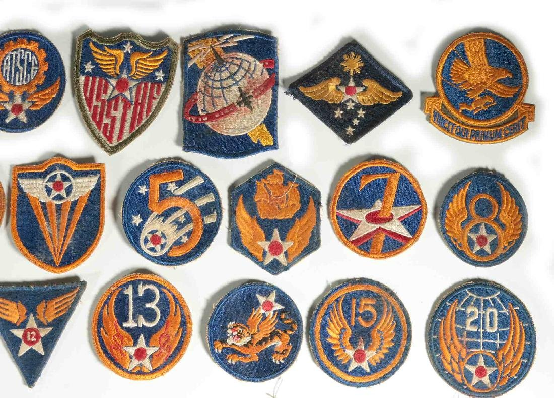 A COLLECTION OF 36 ARMY AIR FORCE AAF WWII INSIGN - 3