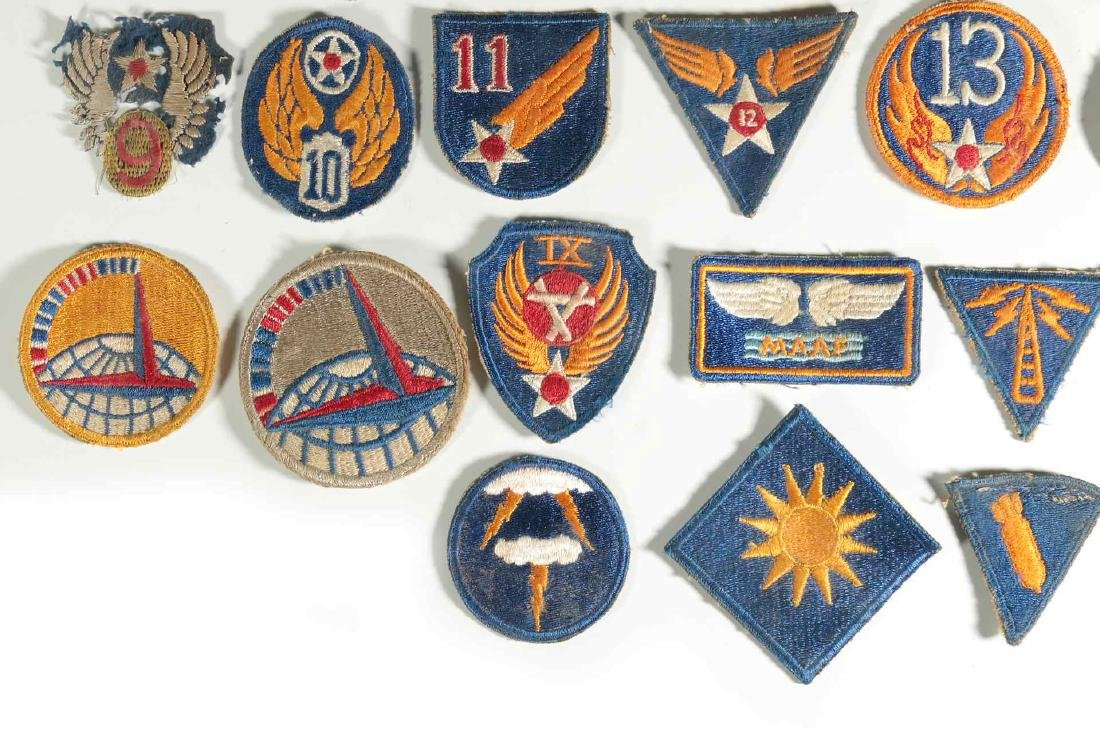 A COLLECTION OF 36 ARMY AIR FORCE AAF WWII INSIGN - 5
