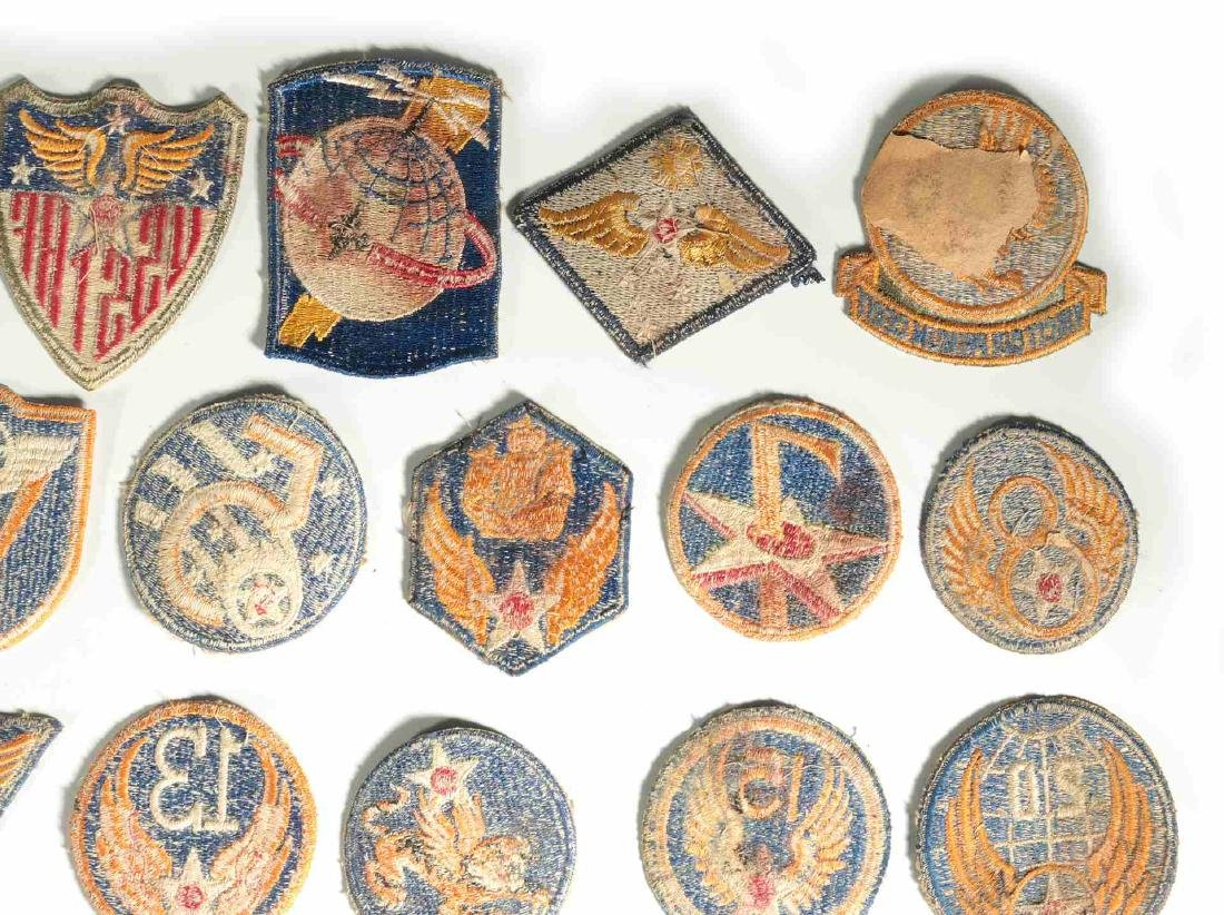 A COLLECTION OF 36 ARMY AIR FORCE AAF WWII INSIGN - 8