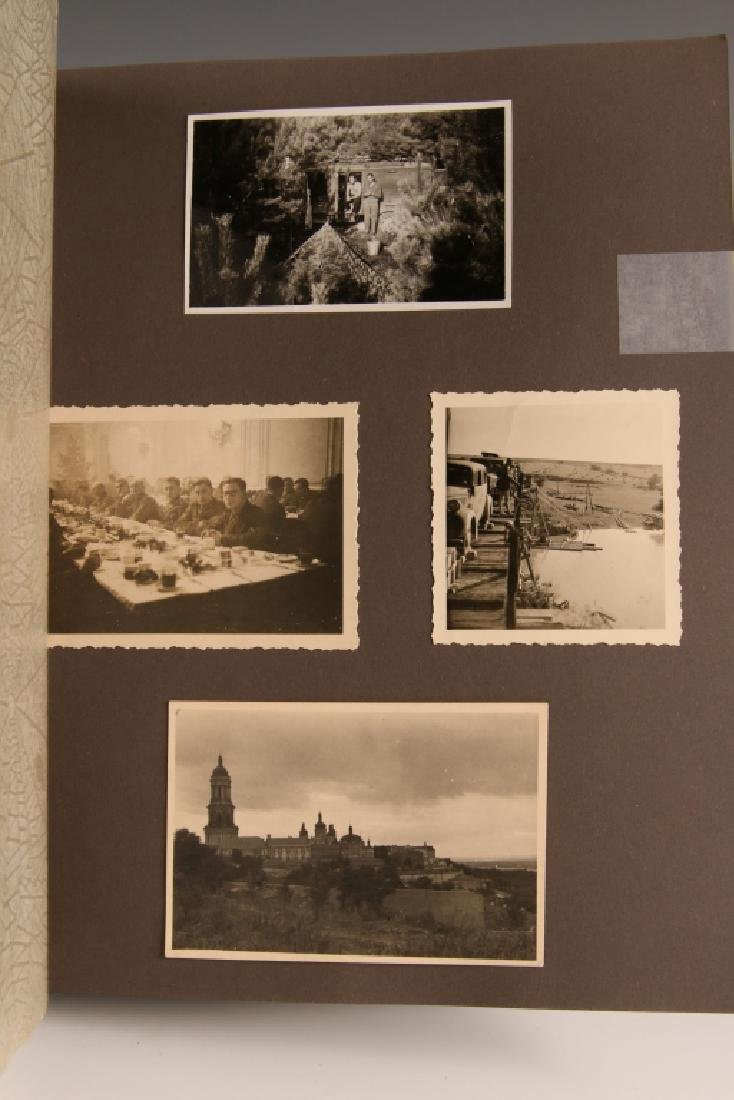 WWII GERMAN PHOTOGRAPH ALBUM, EASTERN FRONT - 10