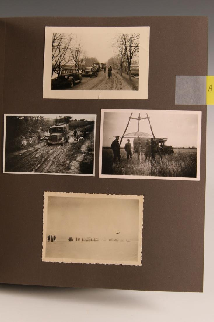 WWII GERMAN PHOTOGRAPH ALBUM, EASTERN FRONT - 3
