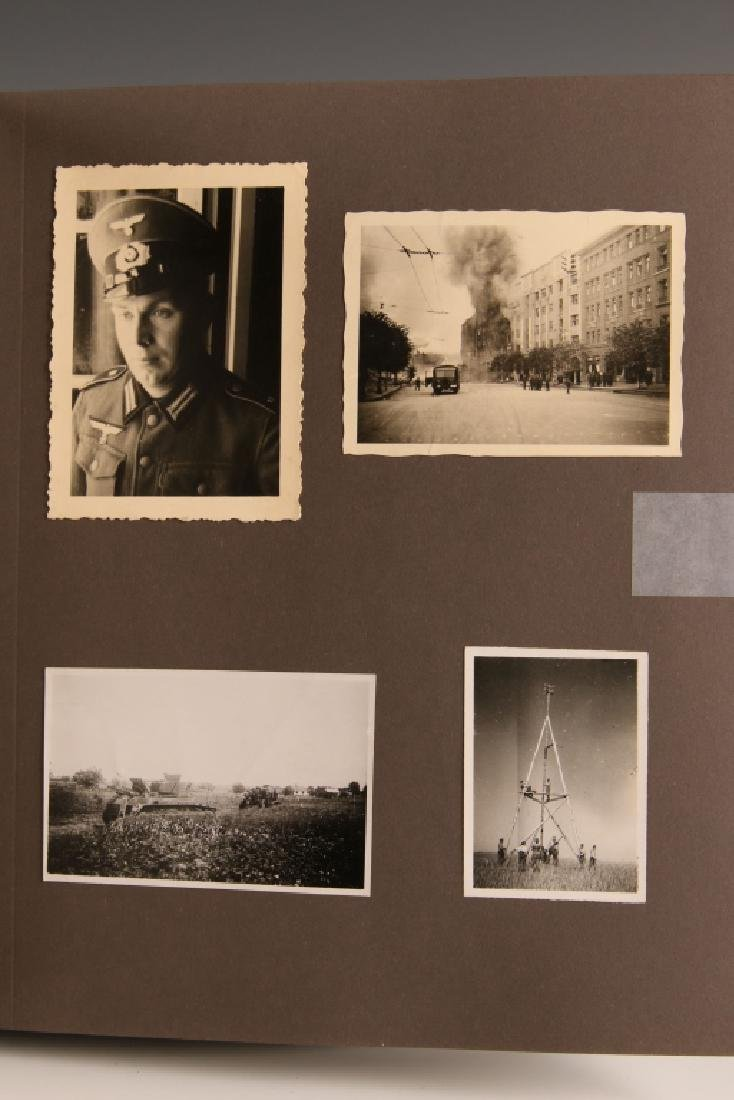 WWII GERMAN PHOTOGRAPH ALBUM, EASTERN FRONT - 4