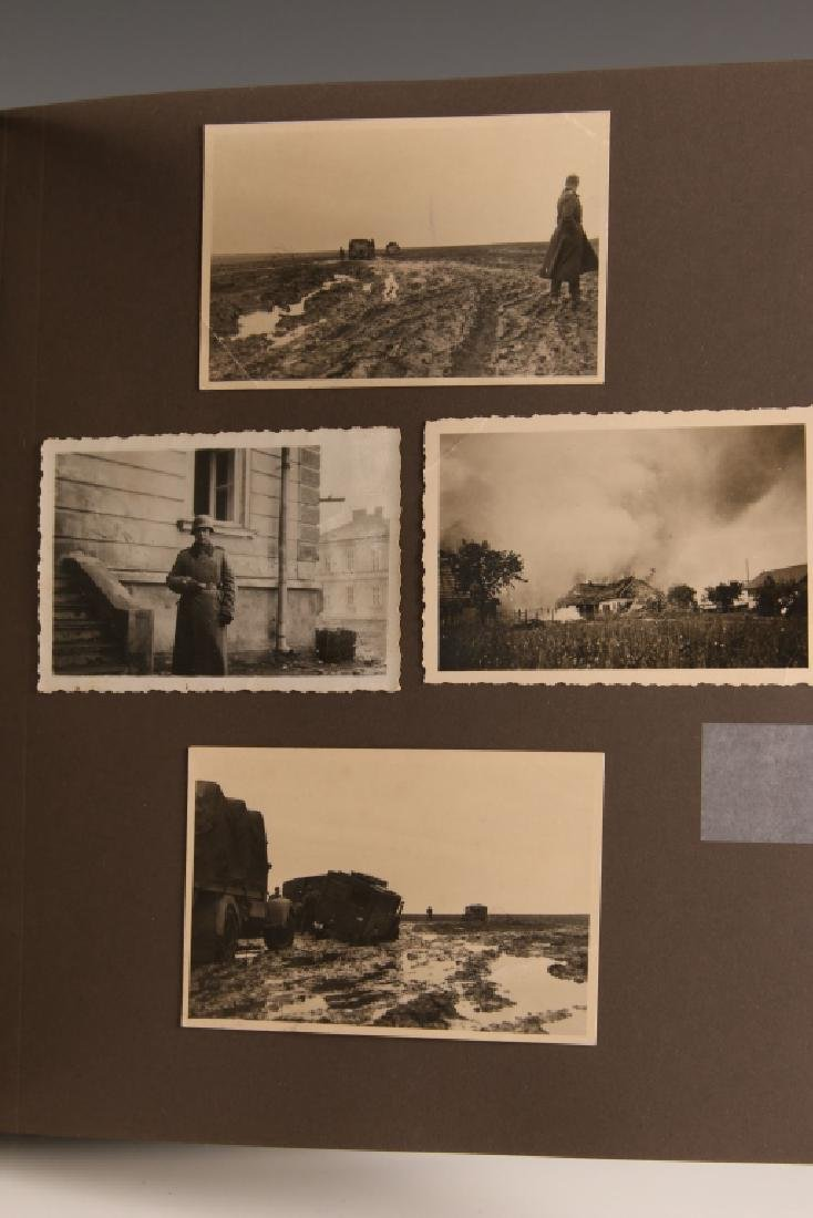 WWII GERMAN PHOTOGRAPH ALBUM, EASTERN FRONT - 5