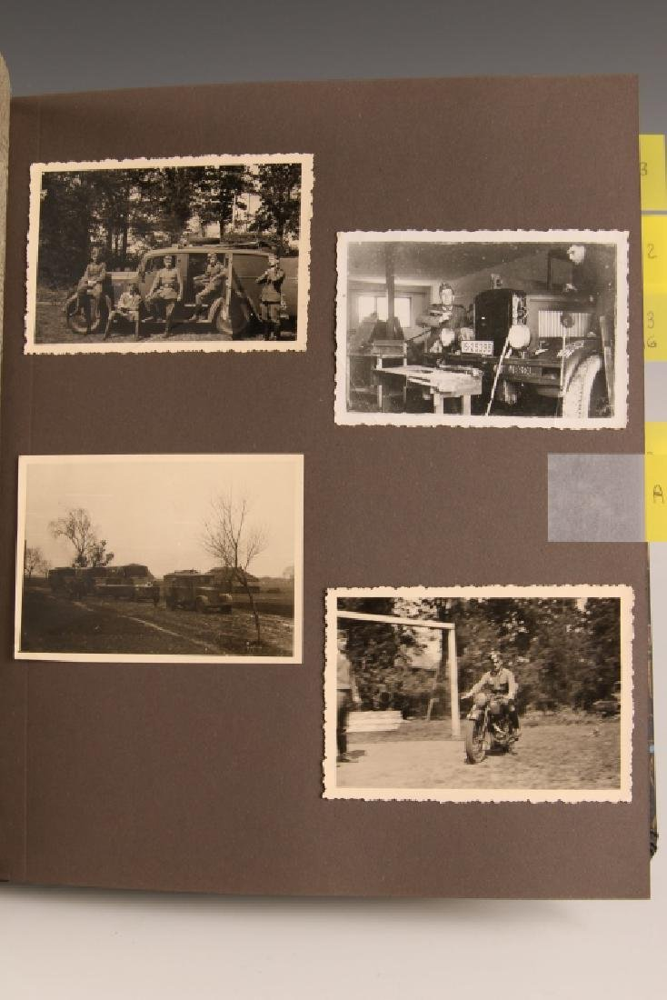 WWII GERMAN PHOTOGRAPH ALBUM, EASTERN FRONT - 7