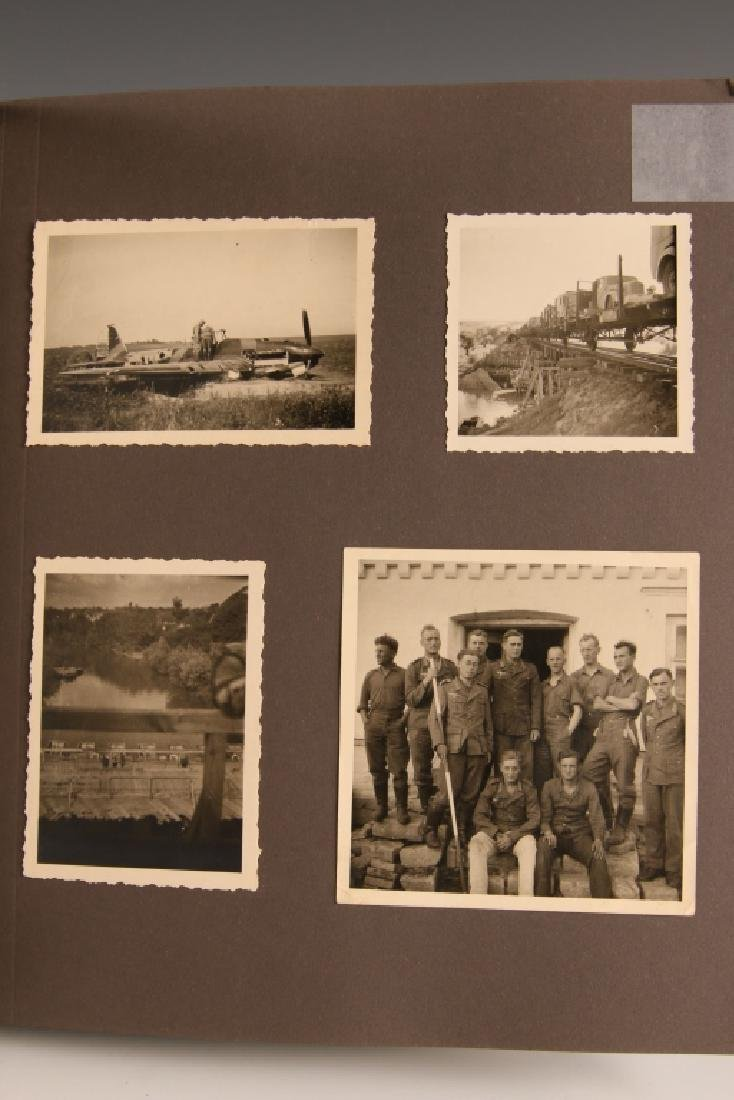 WWII GERMAN PHOTOGRAPH ALBUM, EASTERN FRONT - 8