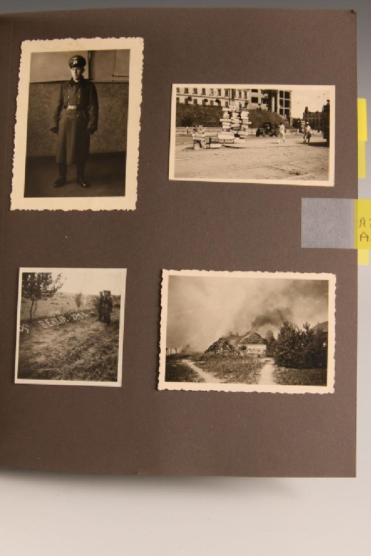 WWII GERMAN PHOTOGRAPH ALBUM, EASTERN FRONT - 9