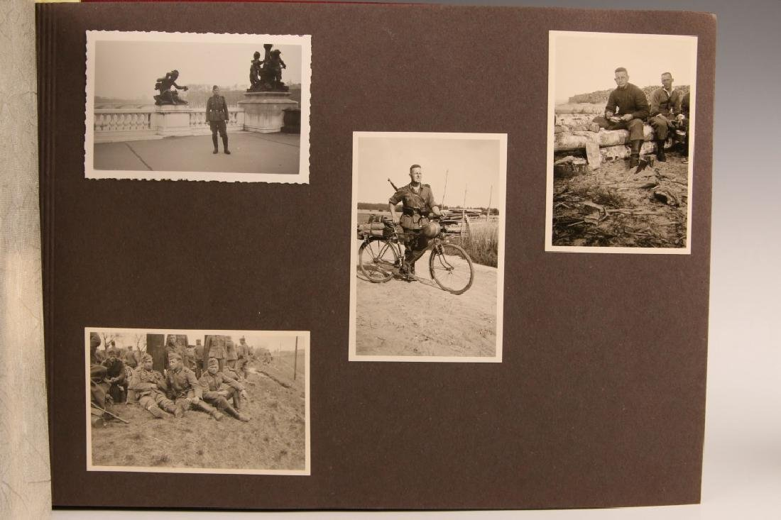 WWII WH PHOTOGRAPH ALBUM, OCCUPATION OF FRANCE - 2