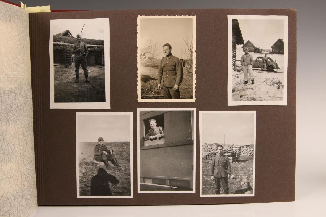 WWII WH PHOTOGRAPH ALBUM, OCCUPATION OF FRANCE - 3