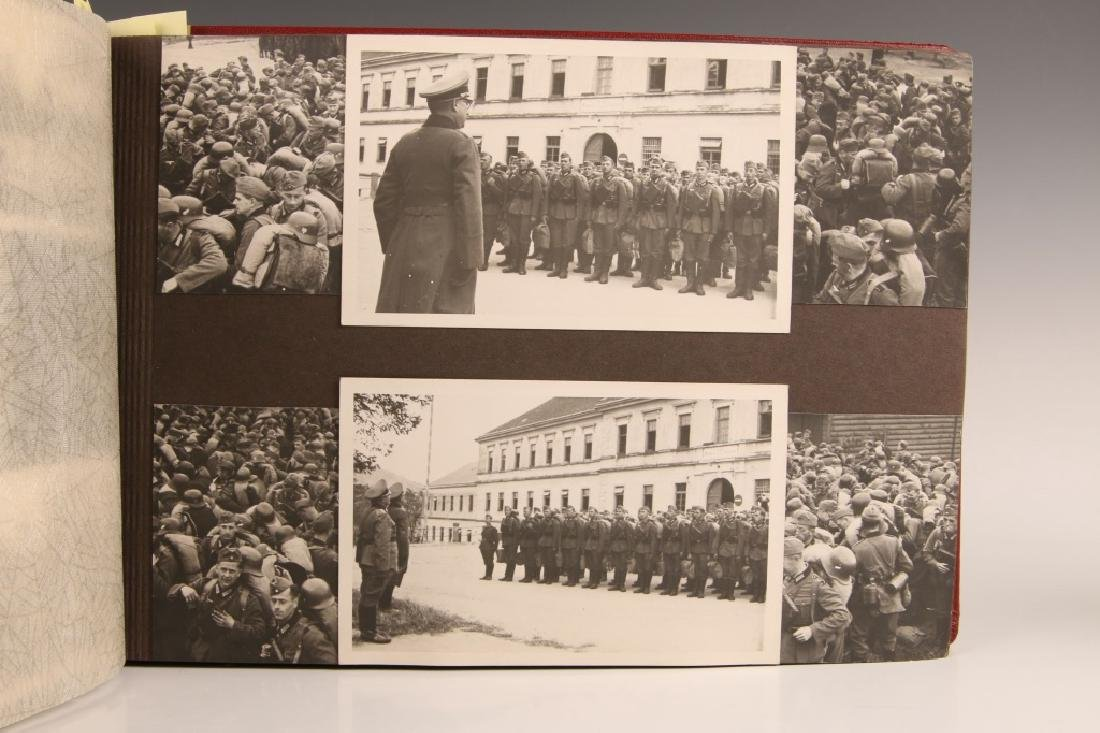 WWII WH PHOTOGRAPH ALBUM, OCCUPATION OF FRANCE - 4