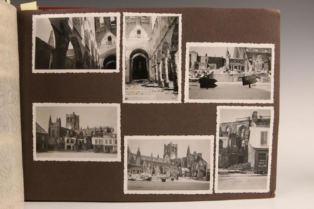 WWII WH PHOTOGRAPH ALBUM, OCCUPATION OF FRANCE - 5
