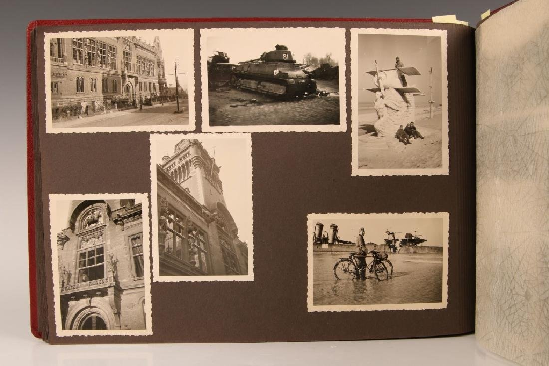WWII WH PHOTOGRAPH ALBUM, OCCUPATION OF FRANCE - 6