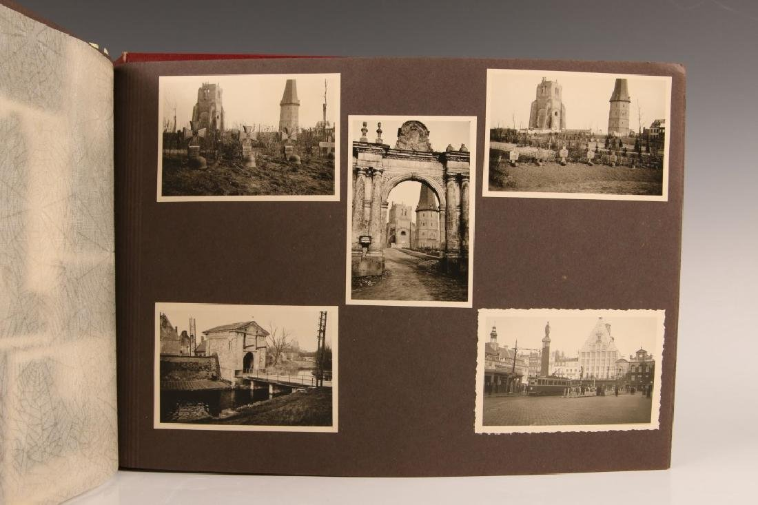 WWII WH PHOTOGRAPH ALBUM, OCCUPATION OF FRANCE - 7