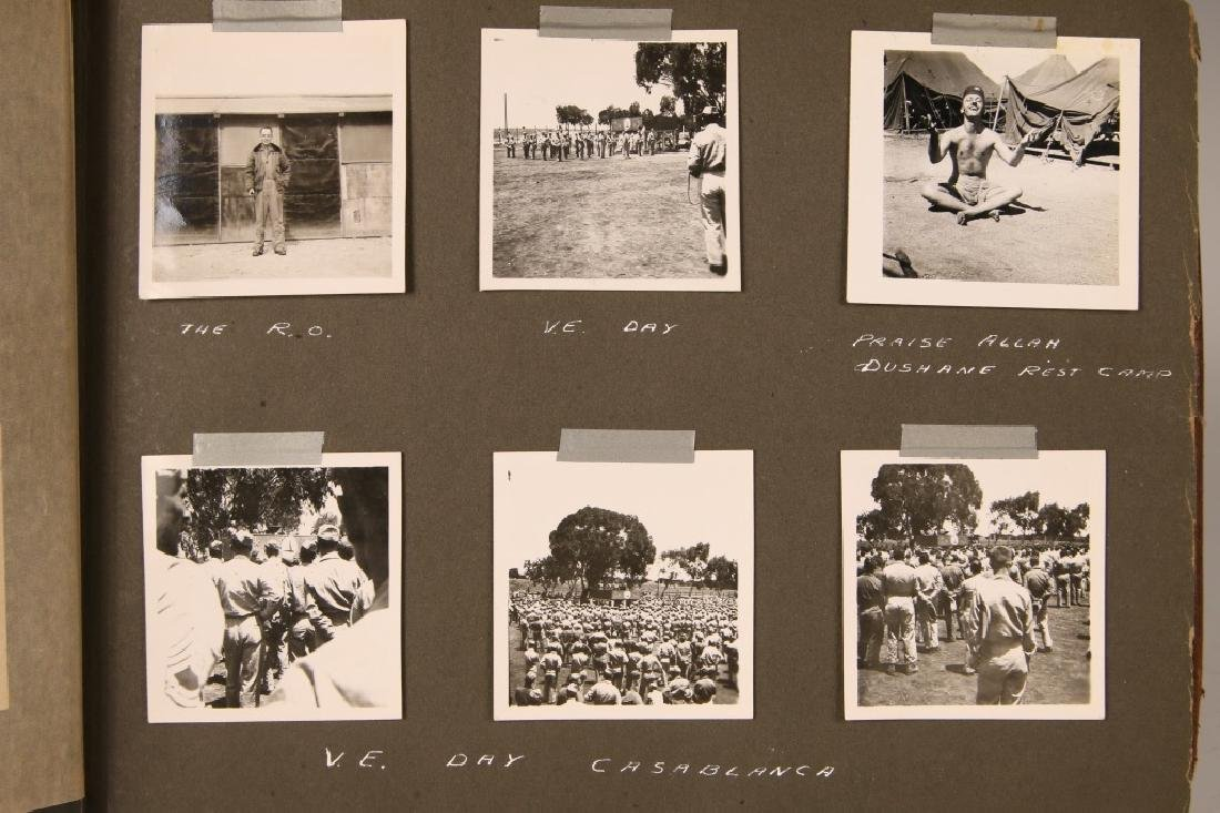 US ARMY WWII PHOTOGRAPH ALBUM - 3