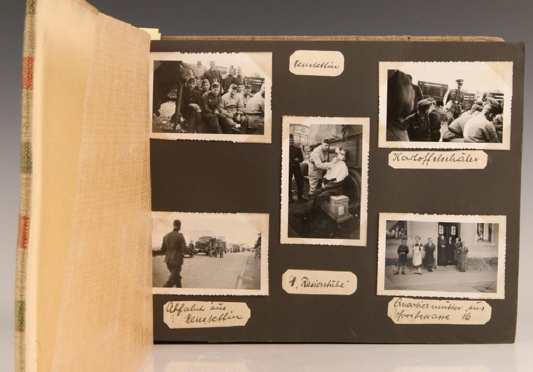WWII WH EASTERN FRONT PHOTOGRAPH ALBUM