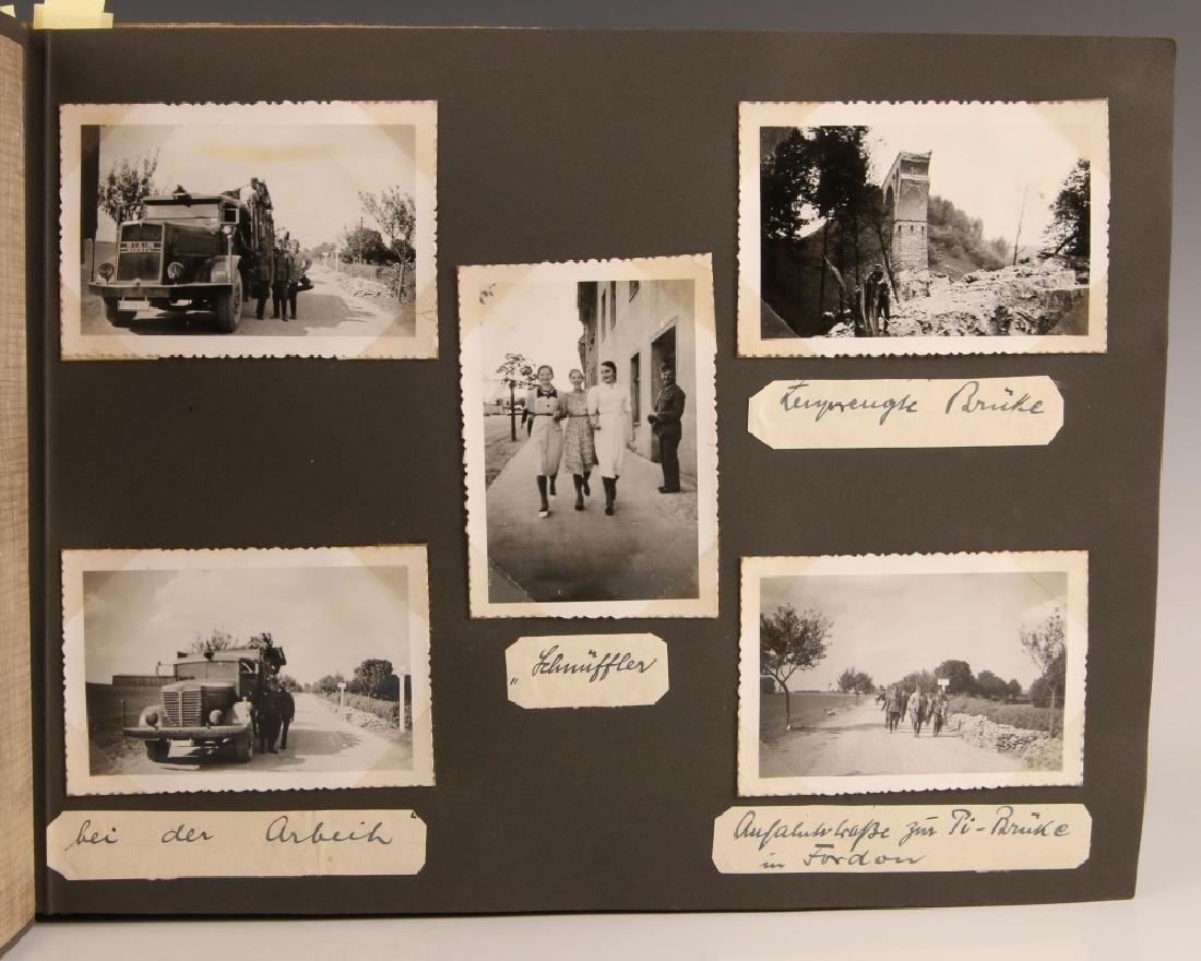 WWII WH EASTERN FRONT PHOTOGRAPH ALBUM - 2