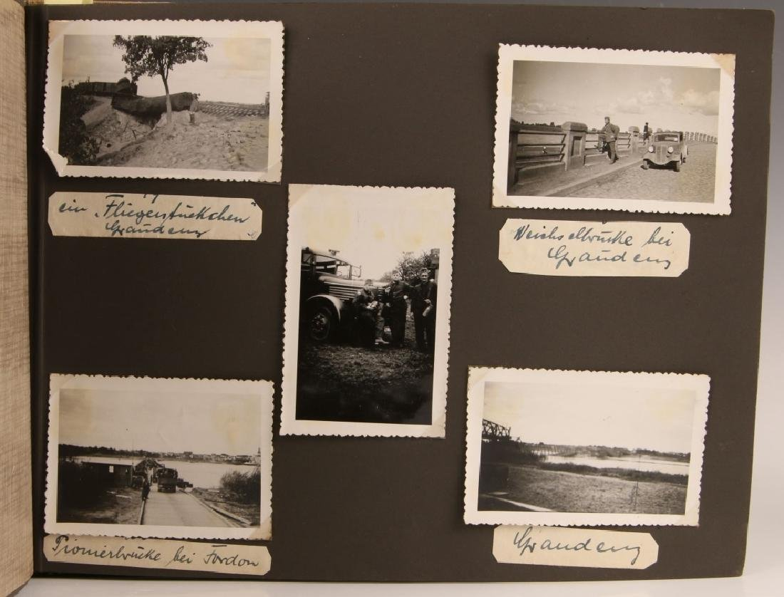 WWII WH EASTERN FRONT PHOTOGRAPH ALBUM - 4