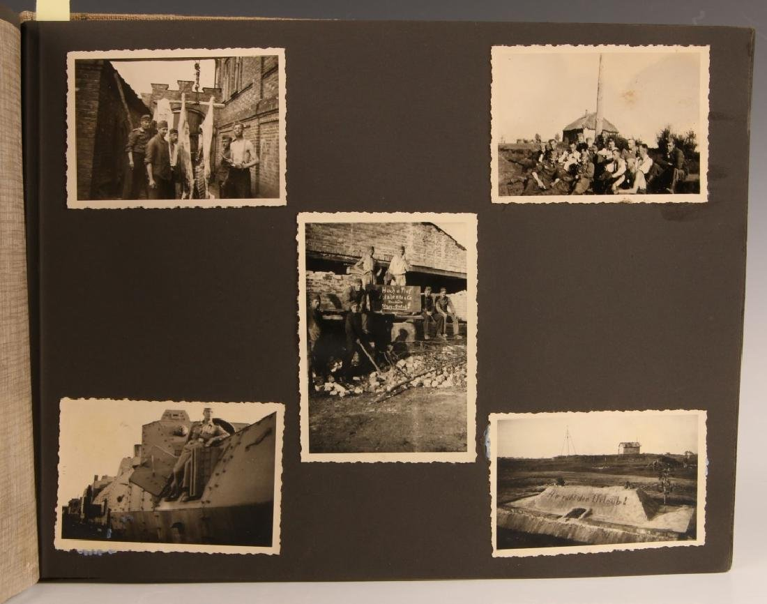 WWII WH EASTERN FRONT PHOTOGRAPH ALBUM - 6