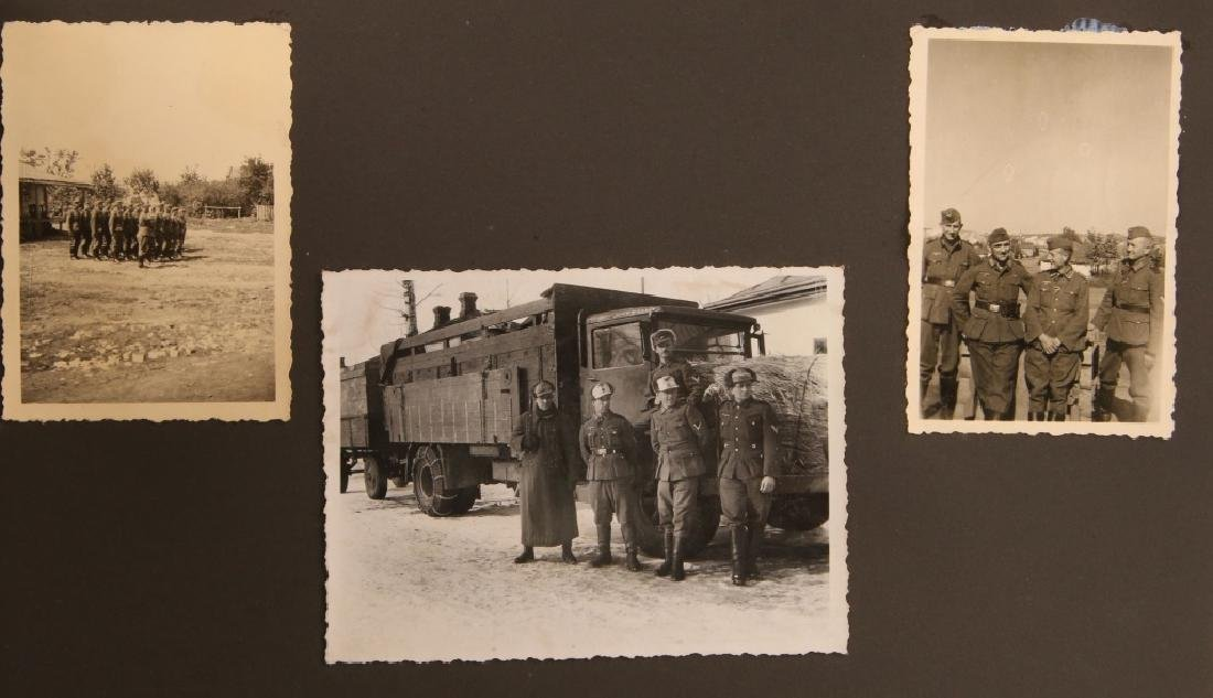 WWII WH EASTERN FRONT PHOTOGRAPH ALBUM - 7