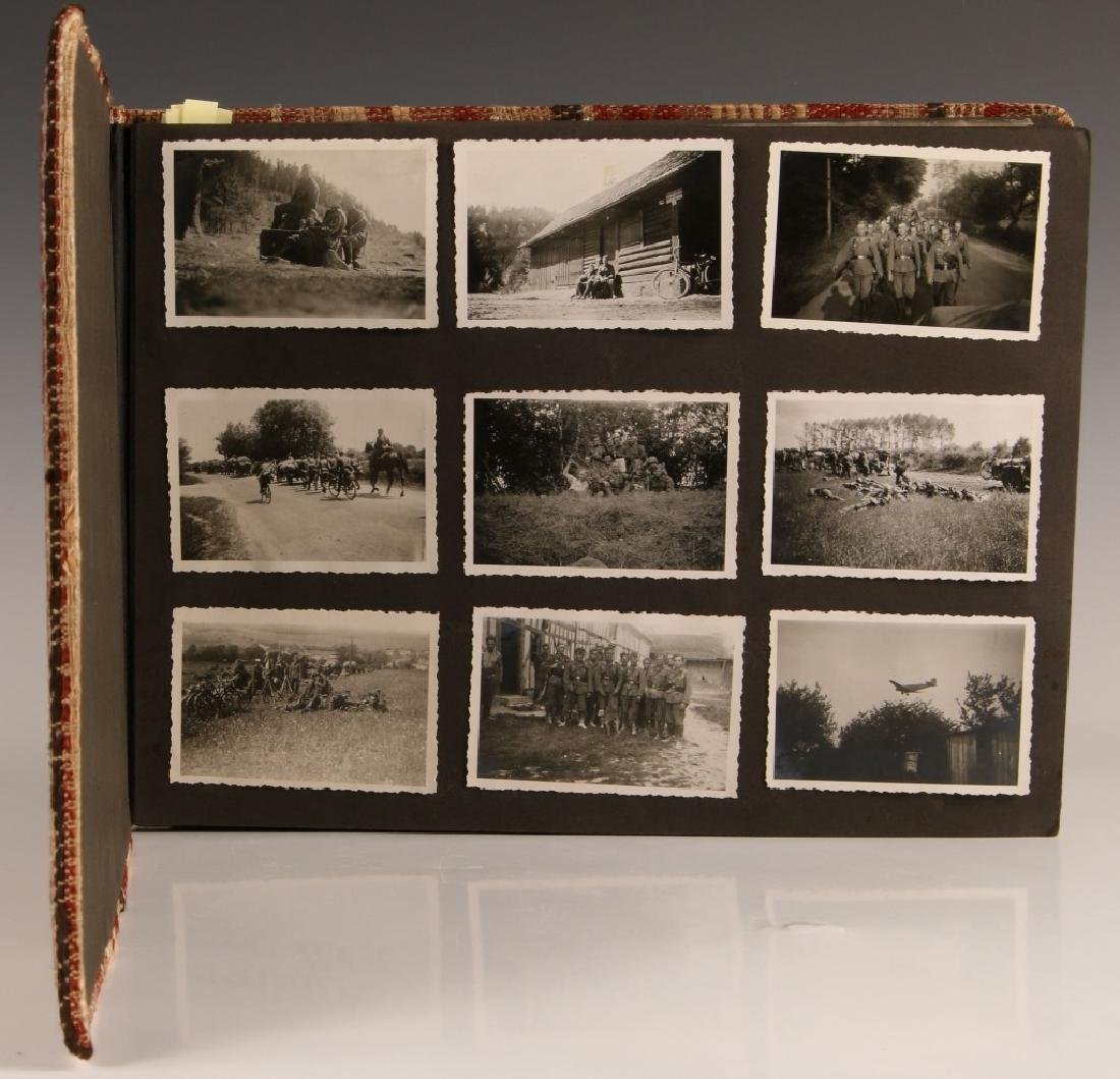 WWII WH INFANTRY PHOTOGRAPH ALBUM