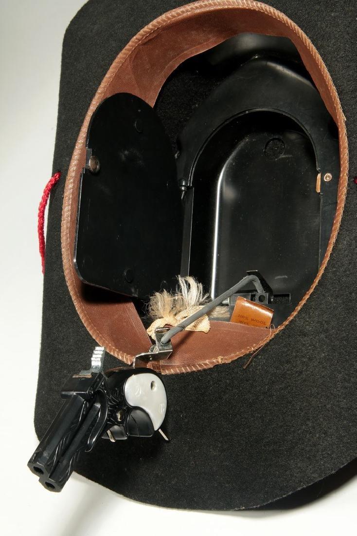 ROY ROGERS WESTERN HAT WITH SECRET GUN - IN BOX - 10