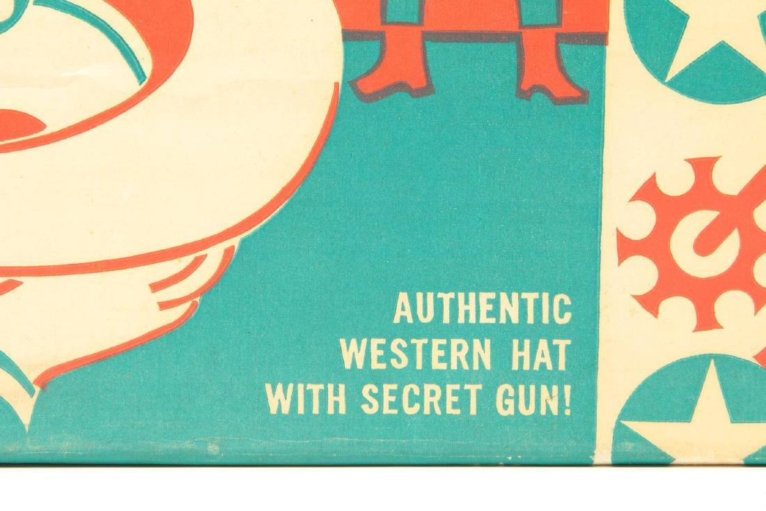 ROY ROGERS WESTERN HAT WITH SECRET GUN - IN BOX - 3