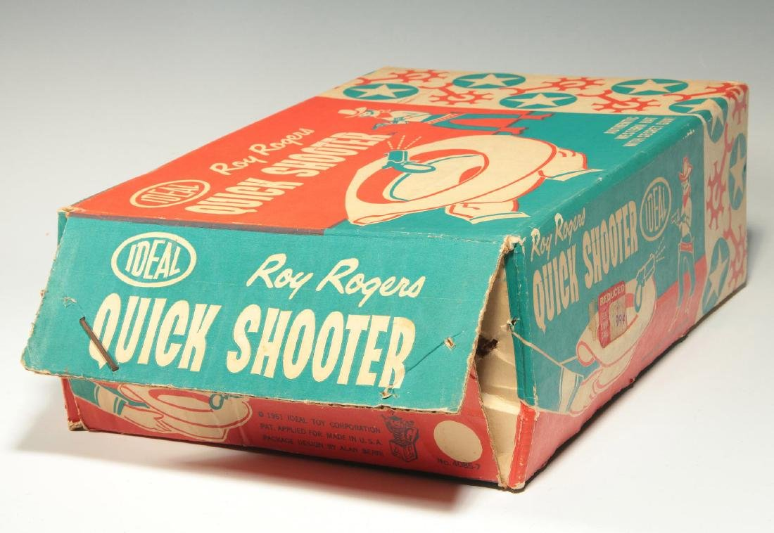 ROY ROGERS WESTERN HAT WITH SECRET GUN - IN BOX - 4
