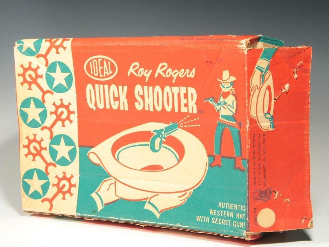 ROY ROGERS WESTERN HAT WITH SECRET GUN - IN BOX - 5
