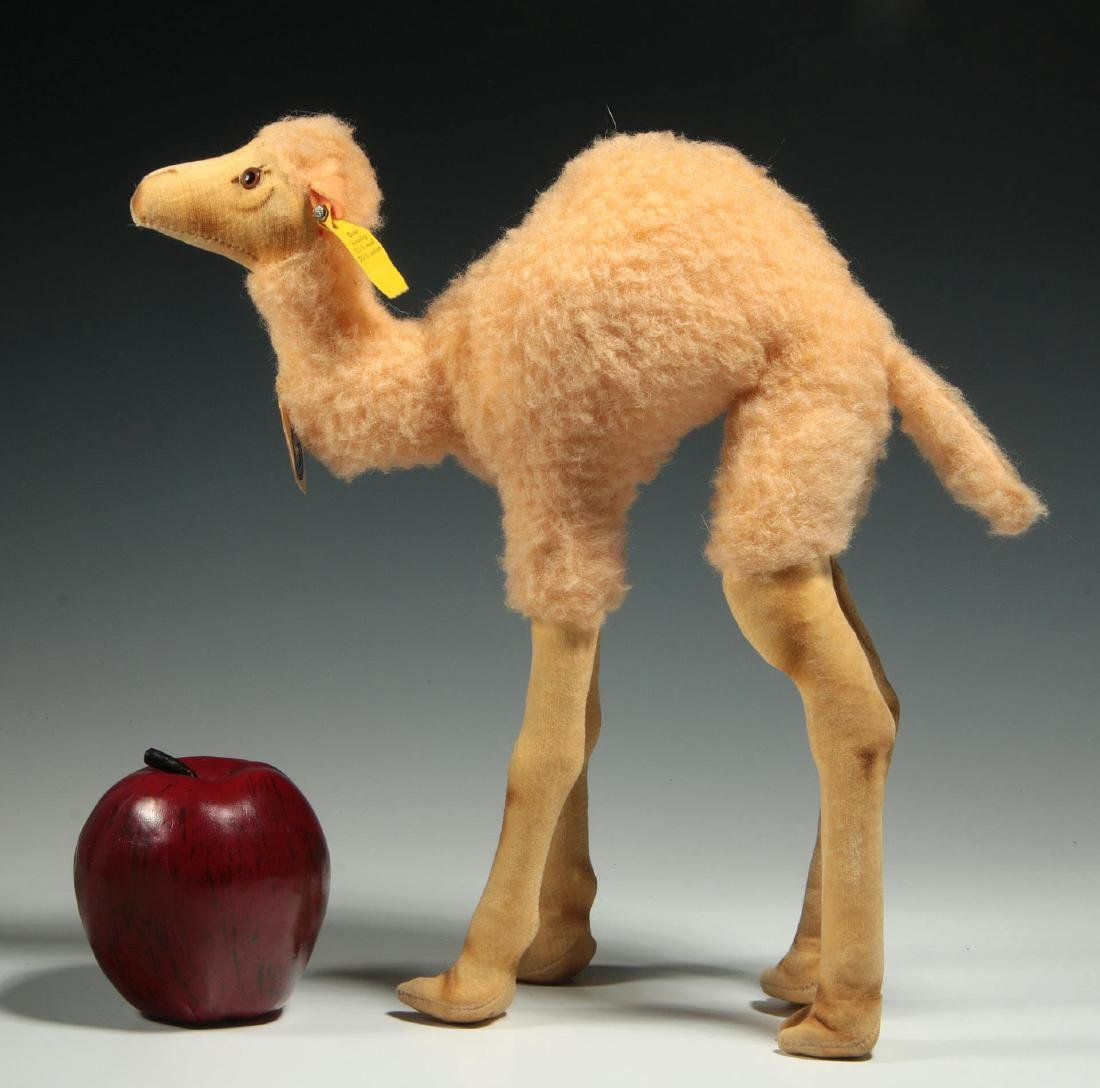 A STEIFF CAMEL PLUSH TOY - 2