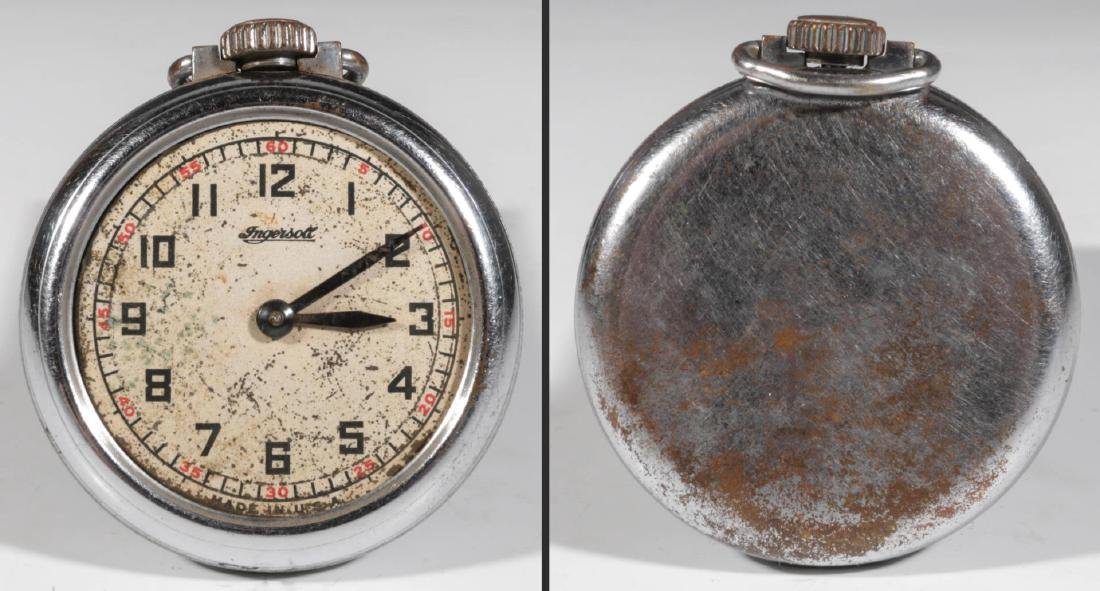A COLLECTION LOW END POCKET WATCHES IN DISREPAIR - 3