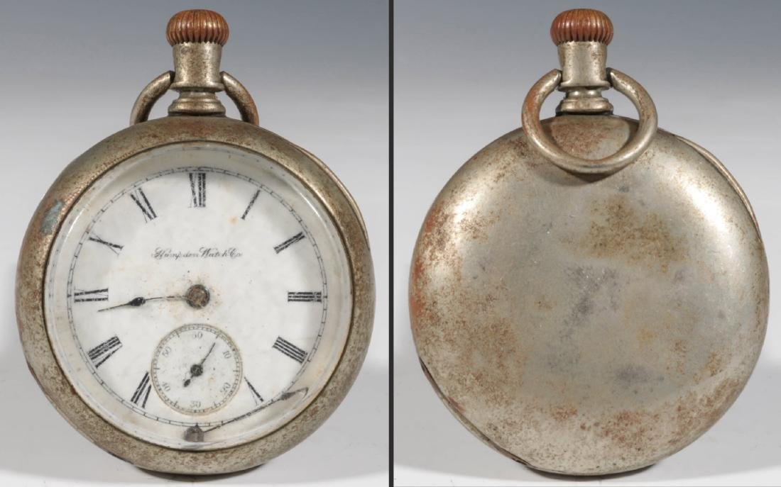 A COLLECTION LOW END POCKET WATCHES IN DISREPAIR - 4