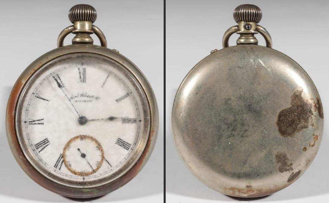 A COLLECTION LOW END POCKET WATCHES IN DISREPAIR - 5