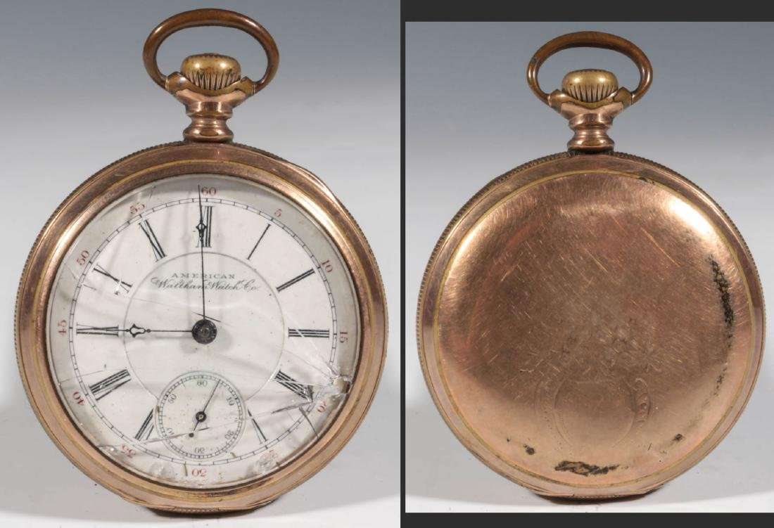 A COLLECTION LOW END POCKET WATCHES IN DISREPAIR - 8