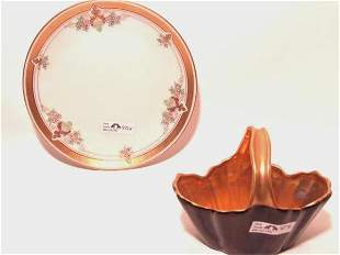 TWO PIECES OF PICKARD CHINA