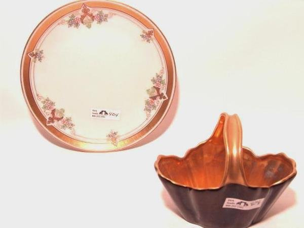 404: TWO PIECES OF PICKARD CHINA