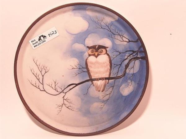 423: NORITAKE NIPPON TRIVET WITH OWL