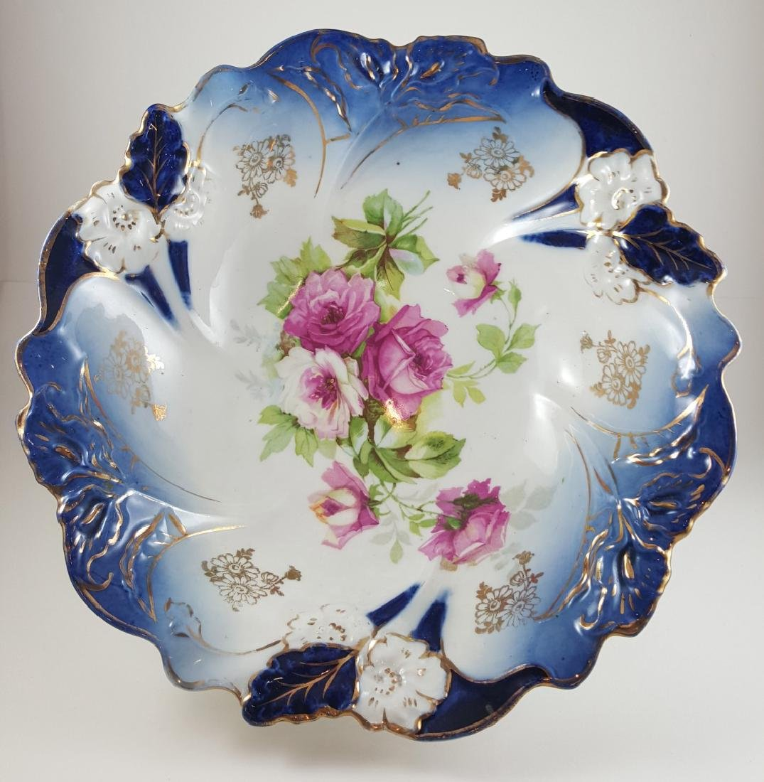 C. 1900 GERMAN PORCELAIN BOWLS ATTRIBUTED RS PRUSSIA