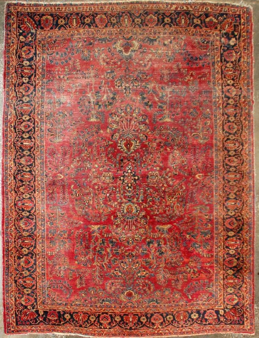 A ROOM SIZED PERSIAN SAROUK CARPET CIRCA 1930