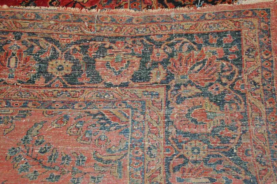 A ROOM SIZED PERSIAN SAROUK CARPET CIRCA 1930 - 2