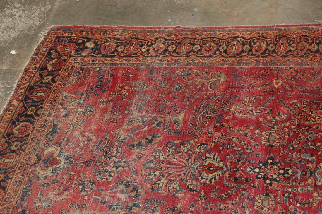 A ROOM SIZED PERSIAN SAROUK CARPET CIRCA 1930 - 3