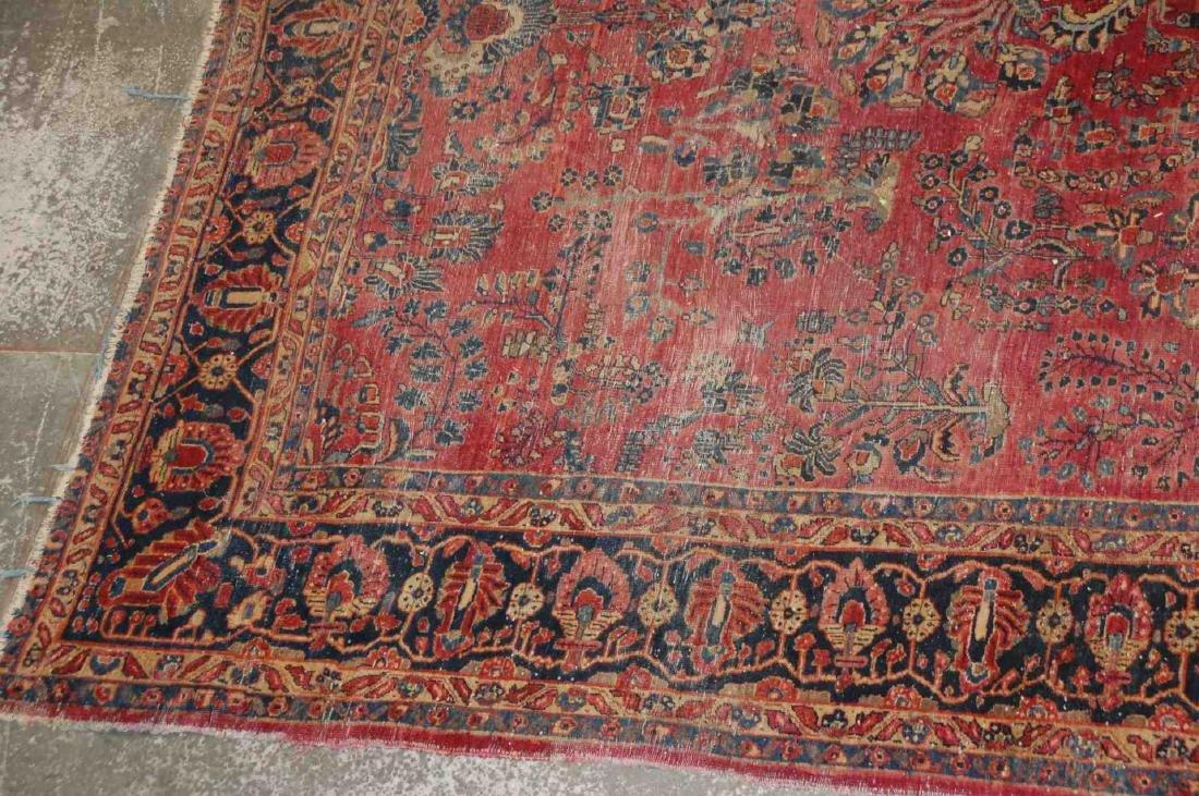 A ROOM SIZED PERSIAN SAROUK CARPET CIRCA 1930 - 4