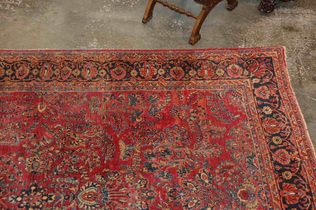 A ROOM SIZED PERSIAN SAROUK CARPET CIRCA 1930 - 5