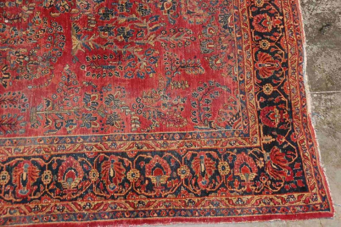 A ROOM SIZED PERSIAN SAROUK CARPET CIRCA 1930 - 6
