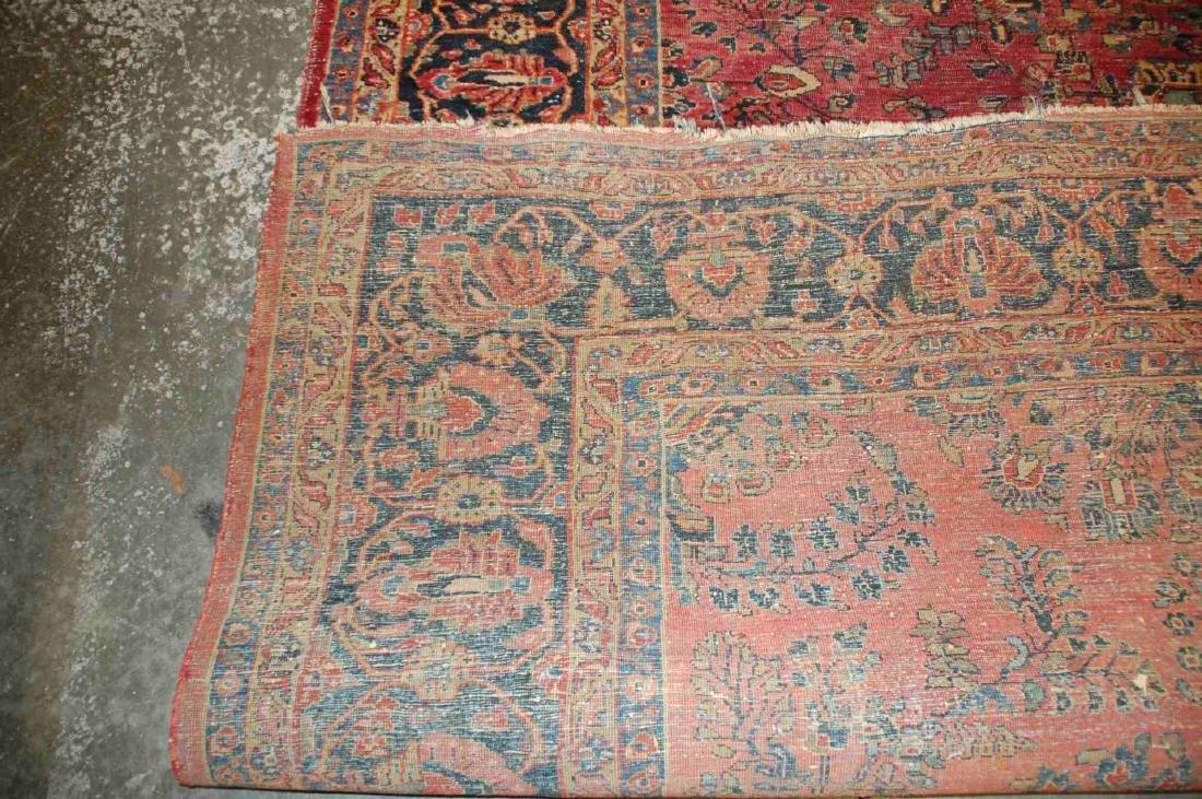 A ROOM SIZED PERSIAN SAROUK CARPET CIRCA 1930 - 7