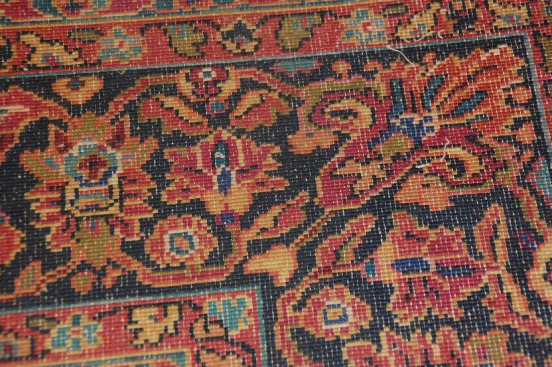 A MACHINE MADE PERSIAN STYLE ROOM SIZE RUG - 2