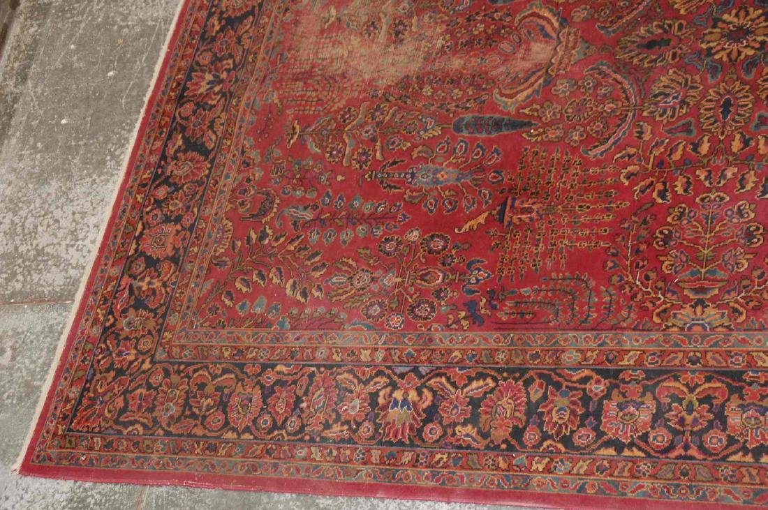A MACHINE MADE PERSIAN STYLE ROOM SIZE RUG - 4