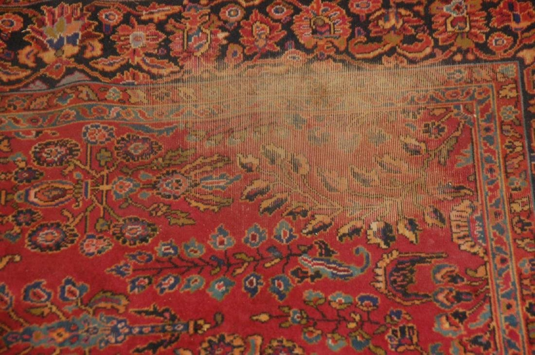 A MACHINE MADE PERSIAN STYLE ROOM SIZE RUG - 7